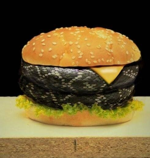 Snake Burger