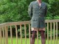Man dress as woman