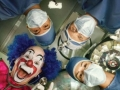 Clown in the surgery room