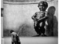 Statue peeing